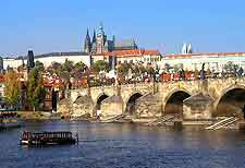 Picture of Charles Bridge in Prague (Praha)