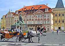 Prague Airport (PRG) Information: Picture of horse and carriage ride