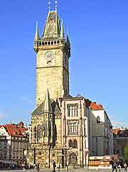 Picture of the Old Town Hall (Staromestska Radnice)
