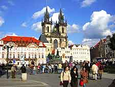 Photo showing Prague's Old Town Square