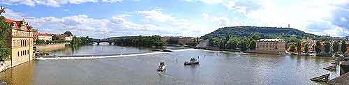 Prague Weather and Climate: Picture of River Vltava
