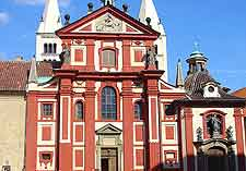 Close-up picture of St. George's Basilica