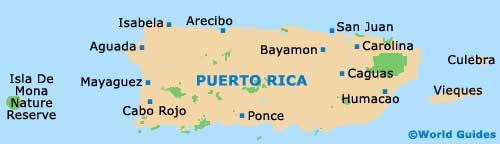 Bayamon Maps and Orientation Bayamon Puerto Rico