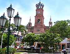 Picture of the Viejo Vallarta's cathedral