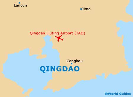 Small Qingdao Map