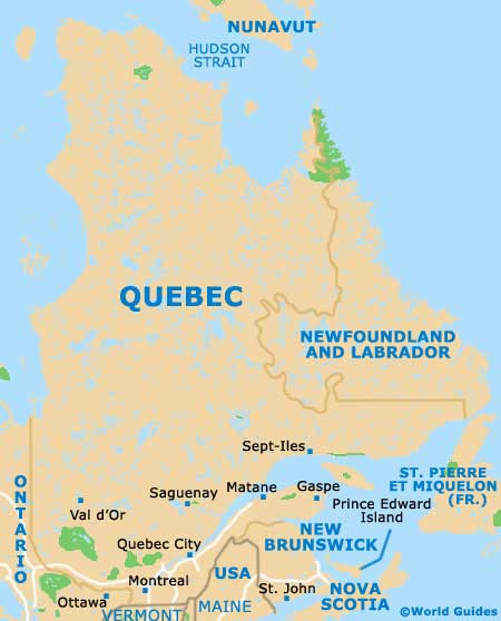 Montreal Qc Canada Map Map of Montreal Pierre Elliott Trudeau Airport (YUL): Orientation