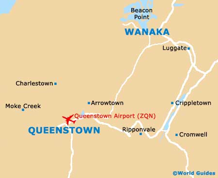 Small Queenstown Map