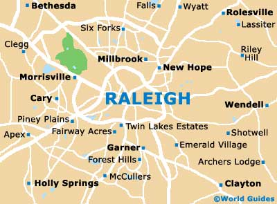 Map Of Raleigh Durham Airport RDU Orientation And Maps