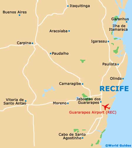 Recife Maps and Orientation Recife Pernambuco Brazil