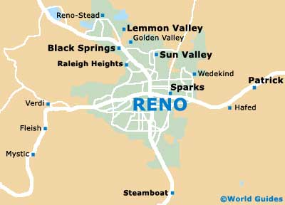 Small Reno Map