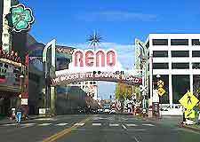 Reno photograph, with famous sign