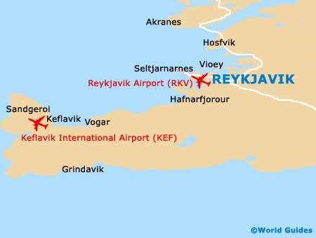 Small Reykjavik Map