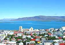 Image of Reykjavik city, capital of Iceland