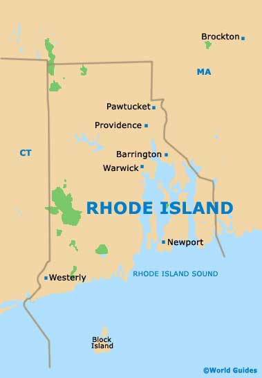Providence Maps and Orientation: Providence, Rhode Island ...