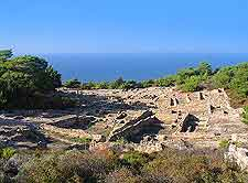 Image showing the ancient ruins of Kamiros City