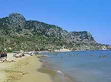 Photo of Tsambika Beach in Rhodes (Rodos)