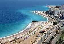 Stunning beachfront photo, taken in the summer season