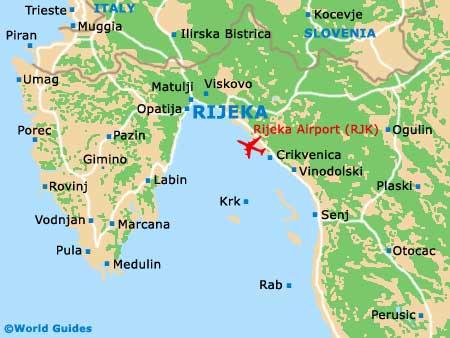 Small Rijeka Map