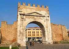 Image showing the Arco di Augusto