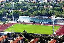 Photo of city soccer stadium