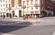 Picture of piazza cafes
