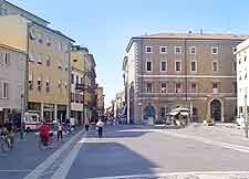 Photo showing central piazza