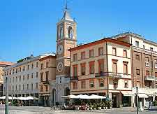 Photo of the Piazza Tre Martiri