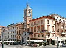 Photo of the Piazza Tre Martiri