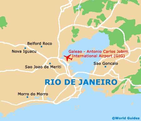 Small Rio de Janeiro Map