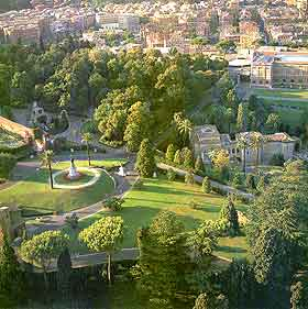 Rome Parks and Gardens