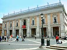 Picture of the Capitoline Museums (Musei Capitolini In Febrica)