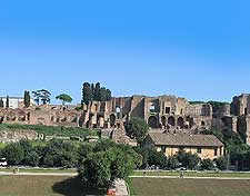 Photo showing the Circus Maximus (Circo Massimo)