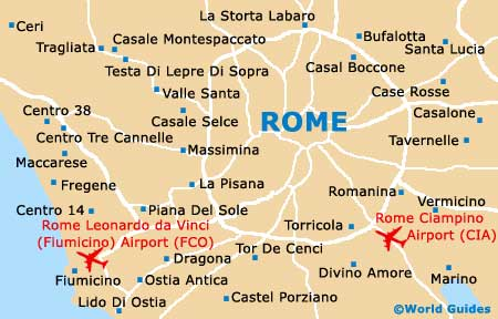 Rome Maps and Orientation: Rome, Lazio, Italy