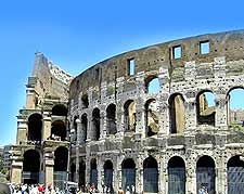 Picture of the Colosseum (Colosseo)