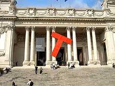 Photography of the National Gallery of Modern Art (Galleria Nazionale d'Arte Moderna - GNAM)