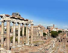 Picture of the ancient Roman Forum