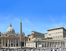 Further photo showing St. Peter's Square (Piazza San Pietro)