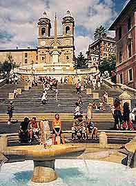 The Spanish Steps - Attraction - Via Condotti, 91, Rome, Lazio, Italy