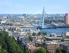 Picture of Rotterdam from above