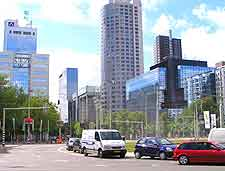 Rotterdam Airport (RTM) Directions: Picture of roads in the city centre