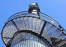 Close-up photo of the Euromast