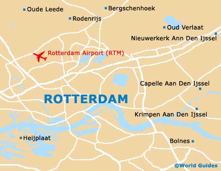 Rotterdam Maps and Orientation: Rotterdam, South Holland, Netherlands
