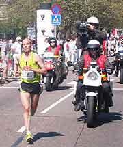Picture of marathon road race
