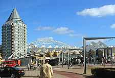 Rotterdam Airport (RTM) Airlines and Terminals: View of the waterfront