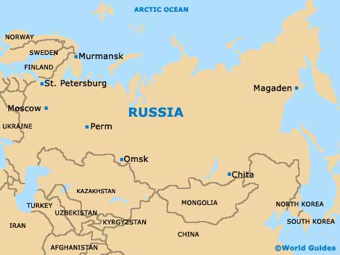 Russia Tourism and Tourist Information Information about Russia