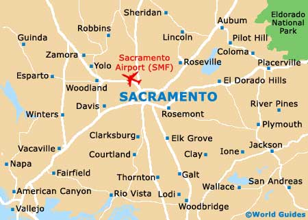 Small Sacramento Map