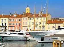 St. Tropez waterfront view