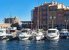 Picture of St. Tropez marine boats and yachts