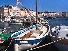 Further St. Tropez waterfront photo