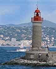 Lighthouse of St. Tropez photo
